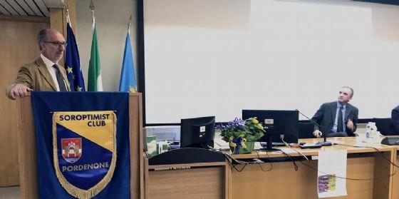 Riccardo Riccardi (Vicepresidente FVG e assessore Salute) in visita al CRO/Centro di Riferimento Oncologico