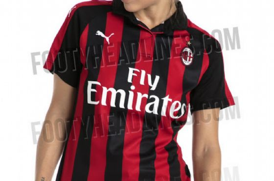 La prima maglia del nuovo Milan