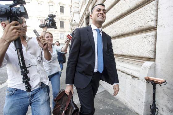 Il ministro dello Sviluppo economico Luigi Di Maio