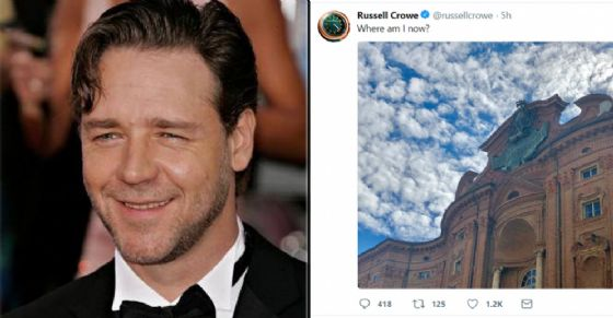Russell Crowe (© Facebook Official Page - Twitter)