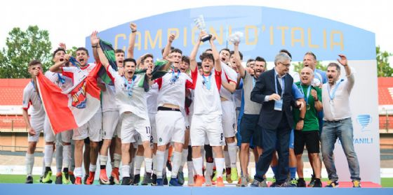 Pordenone Calcio: Under 17 Campioni d'Italia