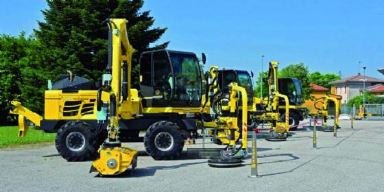 Fvg Strade potenzia la flotta di macchine per la manutenzione del verde