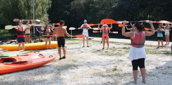Pordenone, ritornano le lezioni di canoa sul Noncello