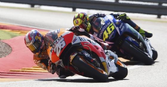 MotoGp, Assen: prima fila con Marquez, Cruthclow e Rossi