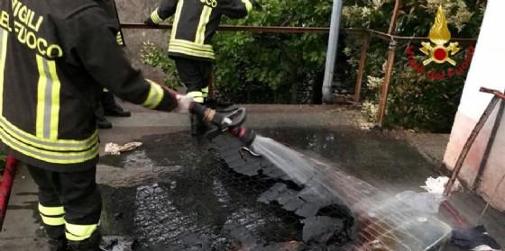 Nuovo incendio ad Aviano: coinvolta una vecchia abitazione
