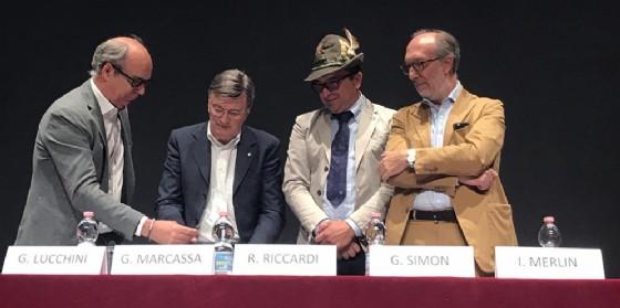 """Il vicegovernatore, Riccardi, alla firma del protocollo anti aggressioni """"Amico alpino accompagnami"""""""