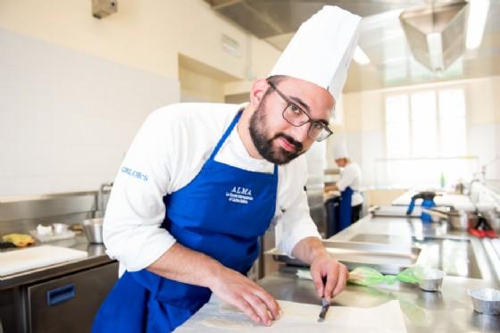 Cucina, un biellese diplomato alla scuola di Gualtiero Marchesi