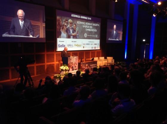 Assemblea Unione Industriale Biellese, Piacenza: «Il futuro passa dai giovani»
