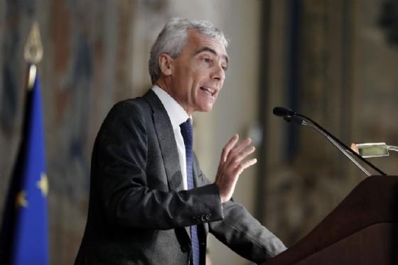 Tito Boeri, presidente dell'INPS, durante la relazione annuale dell'INPS alla Camera dei Deputati