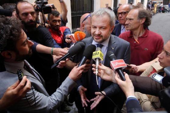 Il presidente della commissione Bilancio, Claudio Borghi (Lega)