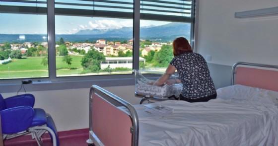 Asl Biella, in pediatria uno spazio dove «cullare» il proprio bimbo come a casa