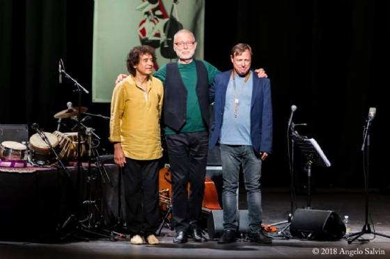 Due mondi di fare jazz:Holland-Hussain-PottervsCohenaUdin&jazz