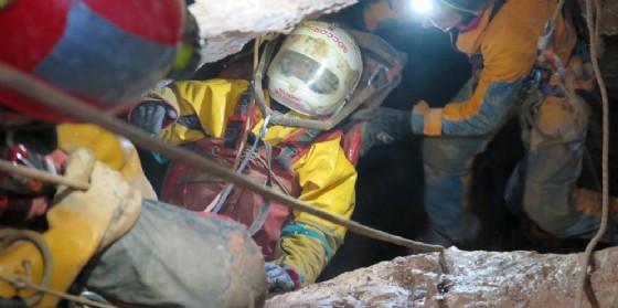Speleologo triestino bloccato in grotta: salvato nella notte