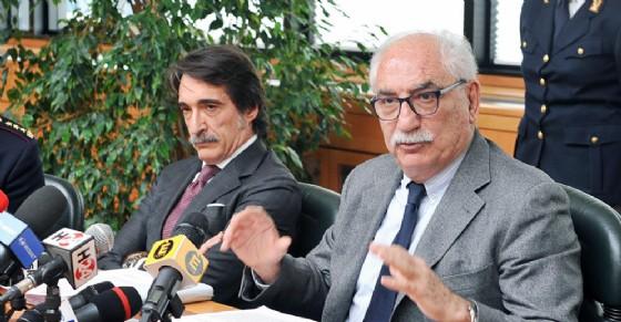 Procuratore capo di Torino Armando Spataro e Questore Francesco Messina
