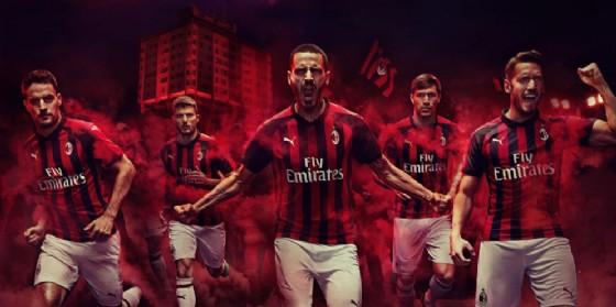 La campagna pubblicitaria di Puma  e Milan