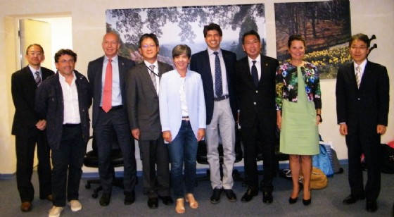 La Camera di Commercio ha accolta la delegazione giapponese di Kiryu