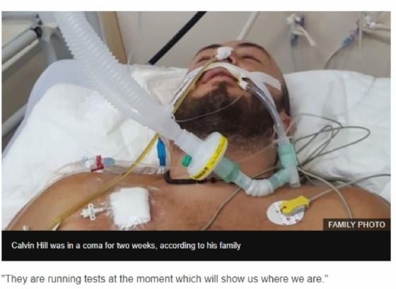 Calvin in coma a causa di una zanzara
