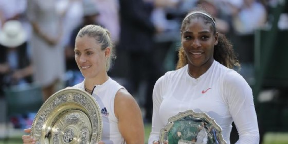 Angelique Kerber e Serena Williams