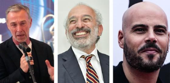 Gad Lerner, Linus e Marco D'Amore