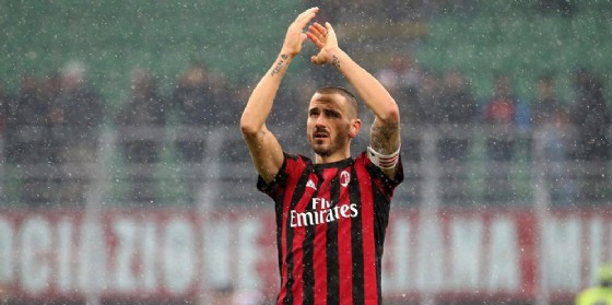 Leonardo Bonucci, difensore e capitano del Milan