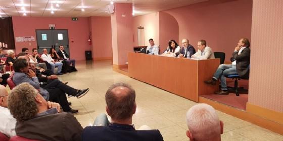 La visita del vicepresidente Riccardi all'ospedale San Polo di Monfalcone; al suo fianco il sindaco Anna Maria Cisint