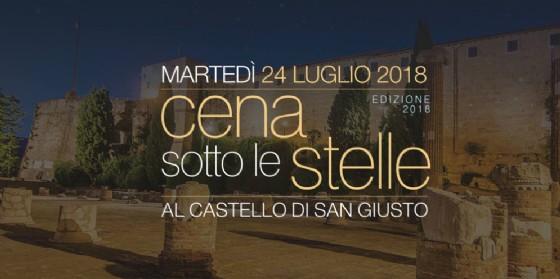 A Cena sotto le Stelle al Castello di San Giusto