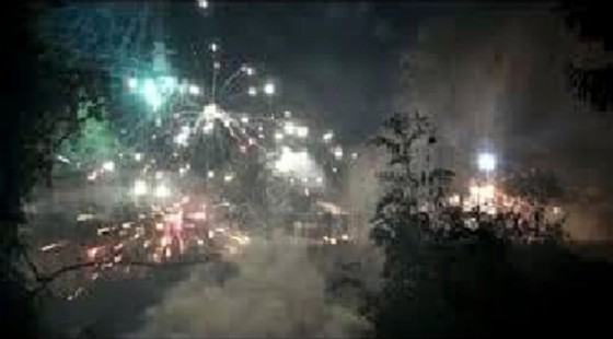 Un gruppo di manifestanti No Tav ha bersagliato con fuochi d'artificio e bombe carta le forze dell'ordine