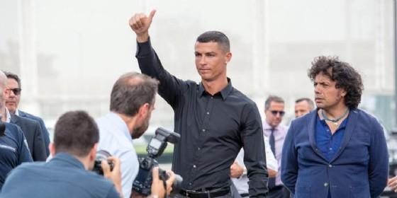 Cristiano Ronaldo, primo giorno alla Juventus