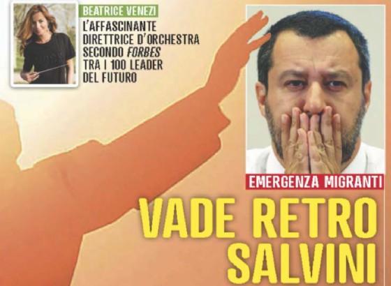 Salvini paragonato al Demonio su Famiglia Cristiana
