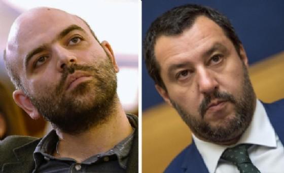 Roberto Saviano a Matteo Salvini