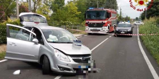 Scontro frontale ad Azzano Decimo: due feriti