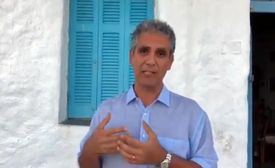 Un fermo immagine del video di Marcello Foa pubblicato sul suo profilo Facebook, 28 luglio 2018