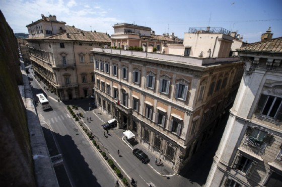 Una veduta di Palazzo Grazioli