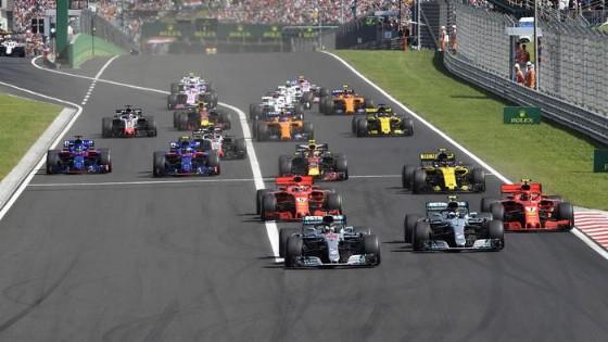 La partenza del GP