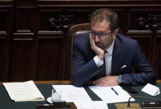Il ministro della Giustizia Alfonso Bonafede. Roma, 17 luglio 2018