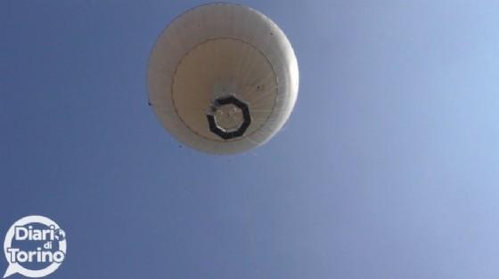 Il pallone aerostatico di Borgo Dora