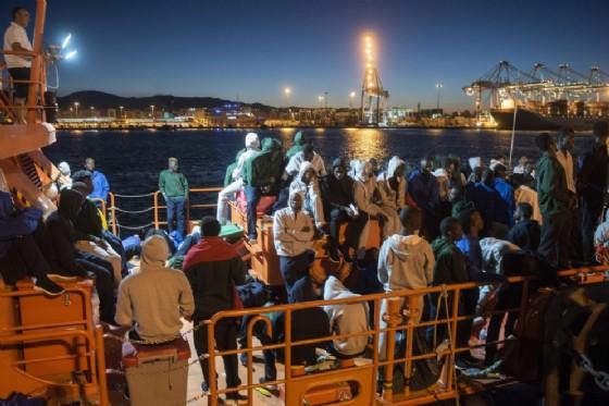 Miranti al porto di Algeciras