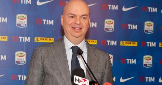 L'ex ad rossonero Marco Fassone