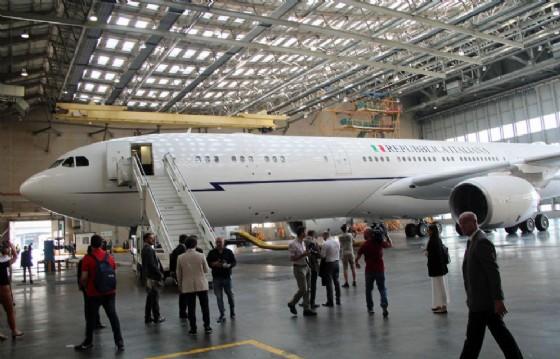 L'airbus di Stato che era stato preso in leasing dal governo Renzi