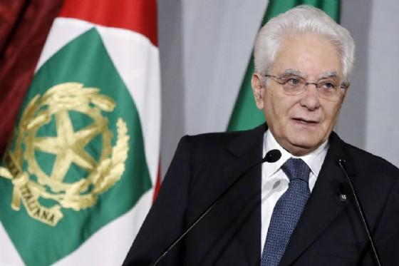 Il Presidente della Repubblica Sergio Mattarella in una recente immagine d'archivio