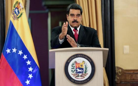 La conferenza stampa di Nicolas Maduro, presidente del Venezuela, dopo l'attentato