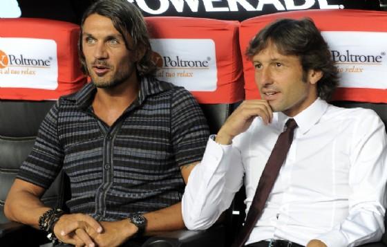 I due grandi amici Maldini e Leonardo in una foto di qualche tempo fa