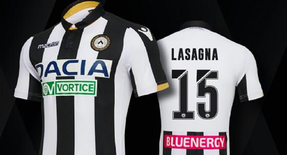 Bianco, nero e oro per la nuova maglia dell'Udinese