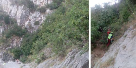 Bloccato dalle vertigini nei pressi del Castello di Duino: interviene il Cnsas