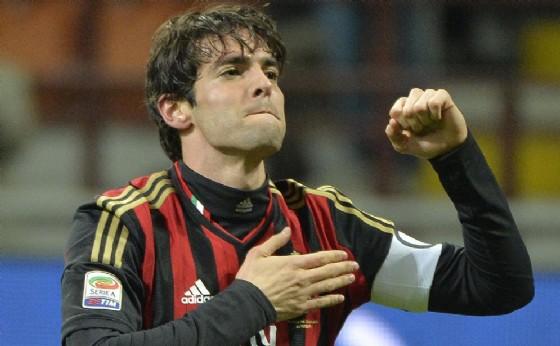 Il brasiliano Kakà, anche lui vicino a un ritorno al Milan