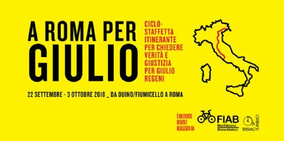 Ciclostaffetta per Giulio Regeni, partirà dal FVG e arriverà fino a Roma