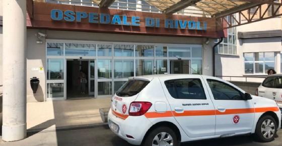 L'entrata dell'ospedale di Rivoli