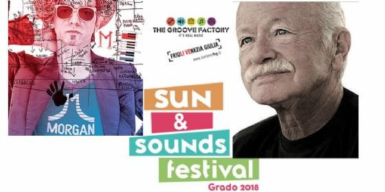 """Sun&Sound Festival: arriva Morgan e la finale di """"Play!"""", annullato il concerto di Gino Paoli"""