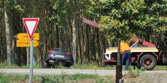 Incidente fra due auto: una persona elitrasportata a Udine