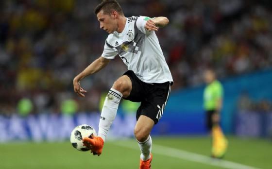 Draxler con la maglia della nazionale tedesca